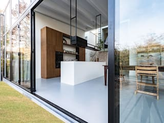 Houses by Dineke Dijk Architecten, Modern