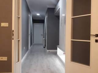 Evde Mimar – Yeni Ev Dekorasyonu:  tarz Koridor ve Hol