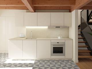 Apartamento em Lisboa: Cozinhas  por im.lab