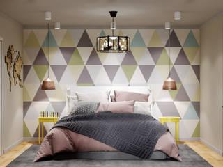 Реутов: Маленькие спальни в . Автор – MBM studio