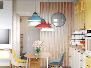 Реутов: Встроенные кухни в . Автор – MBM studio