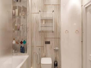 ЖК Резиденция архитекторов: Ванные комнаты в . Автор – MBM studio