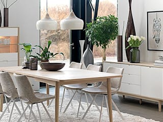 Sala da pranzo moderna di Gala Feng Shui Interiorismo online en Azpeitia Moderno