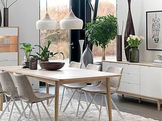 Modern Dining Room by Gala Feng Shui Interiorismo online en Azpeitia Modern