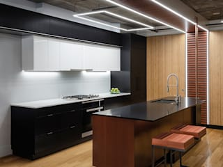 Collage Condo KUBE architecture Modern Kitchen