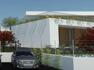 Vista Ingresso inferiore: Case in stile  di Ing. Massimiliano Lusetti