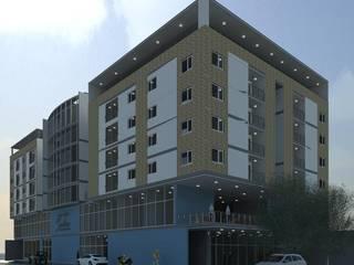Edificio Santino - 2017 Casas modernas de estudio artico Moderno