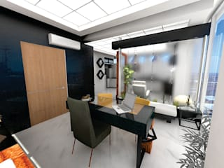 Study/office by Arqca, Minimalist