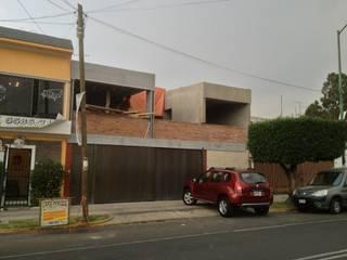 AVANCE DE OBRA - FACHADA - Casas modernas de Prototype studio Moderno