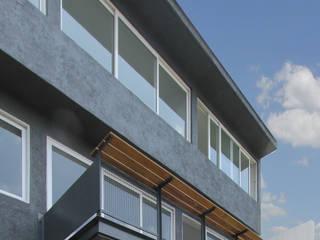 Casa VV: Casas unifamiliares de estilo  por NEGRO arquitectura, S.A. de C.V.,