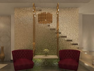 Reception:  Stairs by Puzzle