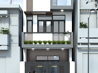 Single family home by Công ty TNHH TK XD Song Phát, Modern