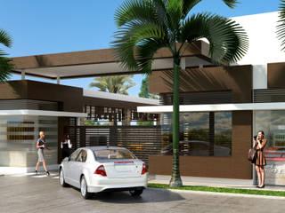 Conjunto residencial Trapiche Houses / Ibagué - Colombia : Casas de estilo  por Taller 3M Arquitectura & Construcción
