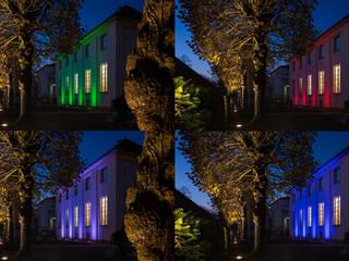 Haus der Architekten | Außenraum Ruairí O'Brien. LICHTDESIGN. Klassische Häuser