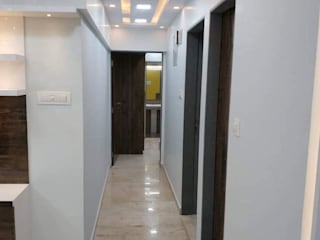 3bhk Apt Rustomjee Azziano home interior by kumar interiorThane:   by KUMAR INTERIOR THANE