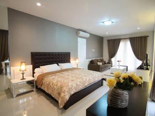 Kamar Tidur Utama Kamar Tidur Modern Oleh Exxo interior Modern