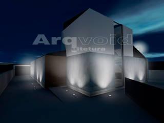 Moradia unifamiliar em Vila do Conde por Arqvoid - Arquitetura e Serviços, Lda. Minimalista