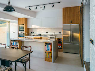 Black Ridge House Dapur Modern Oleh Neil Dusheiko Architects Modern