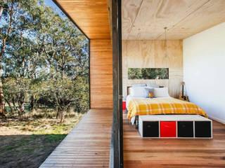 CASAS ESTRUCTURA DE FIERRO: Dormitorios de estilo  por Casas Green Planet