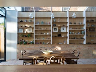 Gallery House Neil Dusheiko Architects Sala da pranzo moderna