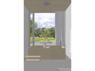 Baños de estilo moderno de Modle Woningen Moderno