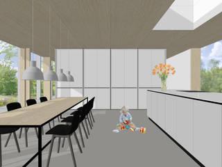 Modern dining room by Modle Woningen Modern
