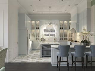 Kitchen by Comelite Architecture, Structure and Interior Design