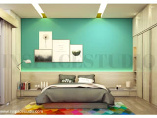 Minimalist bedroom by Inspace Studio Minimalist