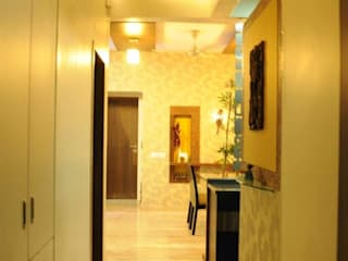 Mrs. Tanvi Sharma:  Corridor & hallway by HOMEDIGILAND SERVICES PRIVATE LIMITED