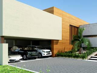 Casa Conjunto residencial Las Victorias / Ibagué - Colombia: Conjunto residencial de estilo  por Taller 3M Arquitectura & Construcción