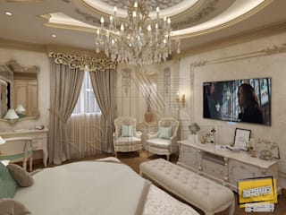 ​classic Bedroom Piece Of A Villa Project at Saudi Arabia من Archeffect كلاسيكي