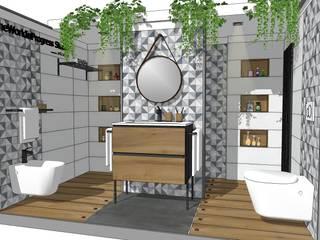 Expo ARTECERAM srl (ROMA): Allestimenti fieristici in stile  di TheWorkInProgress Studio Interior Design