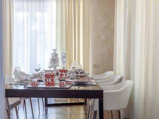 Дом с круглым окном: Столовые комнаты в . Автор – Студия дизайна Светланы Исаевой