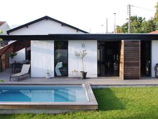 Buitenzwembad door Créateurs d'interieur