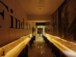 Chartered Accountant Office Modern offices & stores by The Design Company India Modern