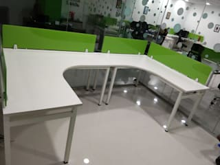 Office Furniture completed in Aerobit Health Baner Pune: asian  by Loginwood,Asian