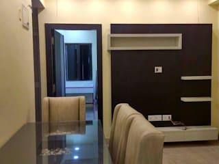 TV Unit Design/ Entertainment Unit for multiple clients in Pune: asian  by Loginwood,Asian
