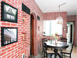 Calcutta Home:  Living room by The Design Company India