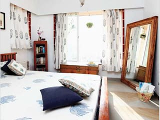 Calcutta Home Rustic style bedroom by The Design Company India Rustic