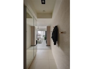 Scandinavian style corridor, hallway& stairs by 微自然室內裝修設計有限公司 Scandinavian