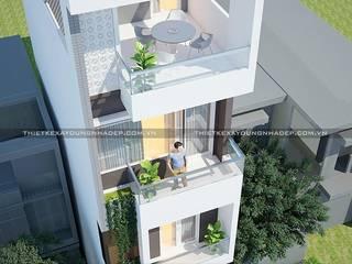 Thiết kế nhà 40m2 bởi Công ty cổ phần tư vấn kiến trúc xây dựng Nam Long Hiện đại
