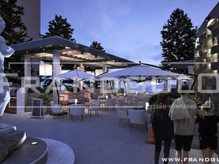 Летняя площадка шикарного ресторана в Ялте от Frandgulo Модерн