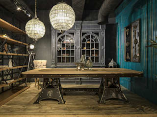 PARİS DINNER TABLE Sherwood Furniture&Project&Design&Office Endüstriyel