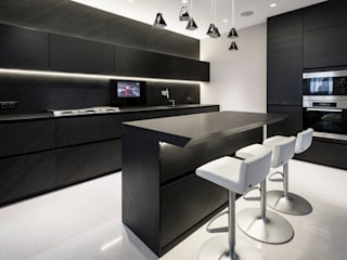 Modern kitchen by Geometrix Design Modern