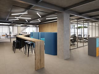 C2HA Arquitetos Commercial Spaces