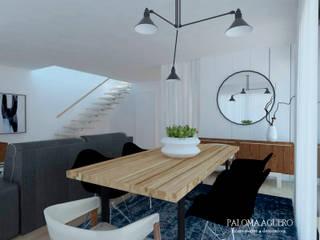 Comedores de estilo escandinavo de Paloma Agüero Design Escandinavo