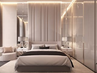 Спальни в . Автор – U-Style design studio
