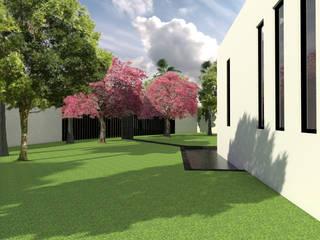 Estanques de jardín de estilo  de Arqternativa, Moderno