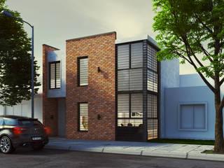 Casa Brown Casas modernas: Ideas, imágenes y decoración de Patio Arquitectos Moderno