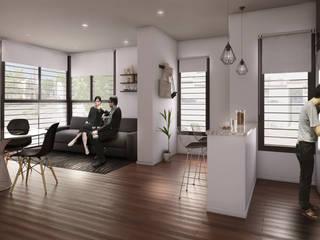 Casa Brown Comedores modernos de Patio Arquitectos Moderno